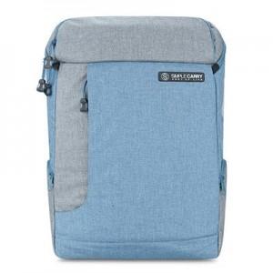 balo laptop k5 blue grey - 2