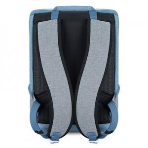 balo laptop k5 blue grey - 3