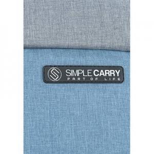 balo laptop k5 blue grey - 4