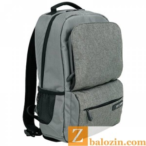 Balo laptop B2B01 Grey - mat truoc - Copy