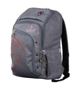 Balo laptop Sakos Rainbow I15 NG01 Grey