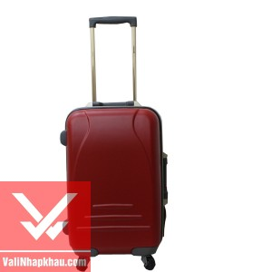 Vali keo Prince 4515 - Red - Mat truoc