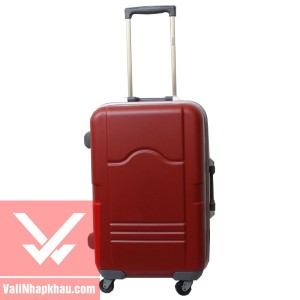 Vali keo Prince 4741 - Red - Mat truoc
