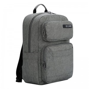Balo laptop Simplecarry Issac1 - grey